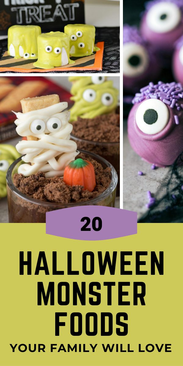20 Delicious Halloween Monster Foods Your Kids Family Will Love