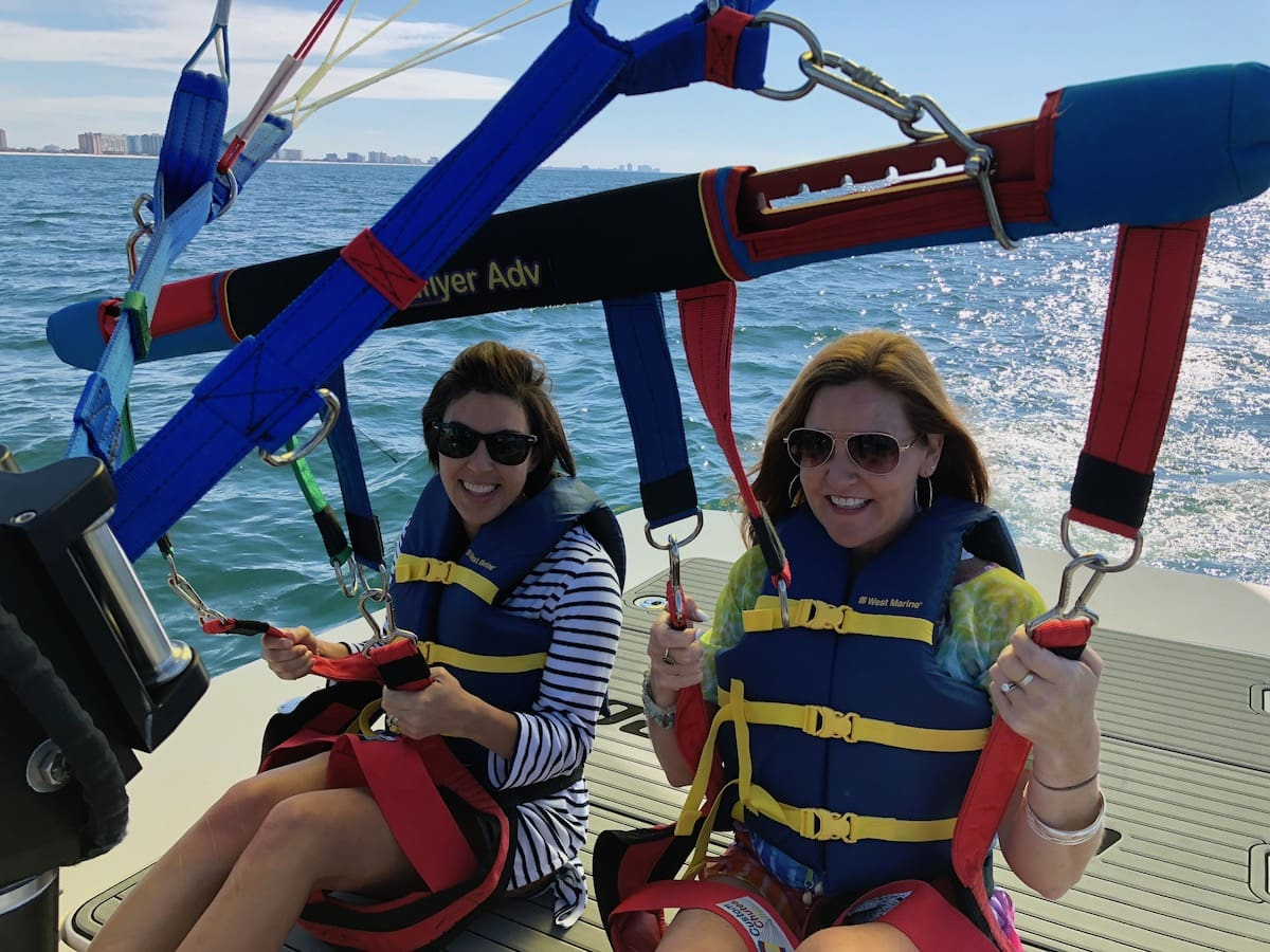 Gulf Shores, Alabama for a Girlfriend Getaway: 5 Reasons to Go - Sky Surfer Parasail