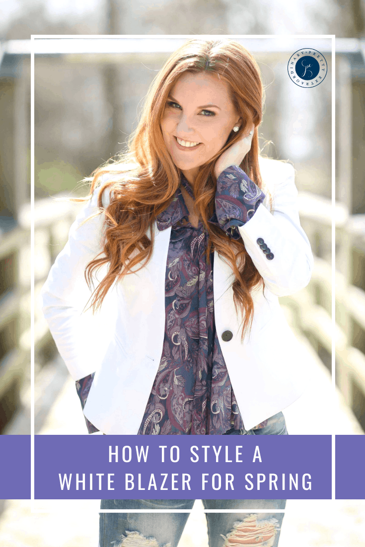 How to Style a White Blazer for Spring