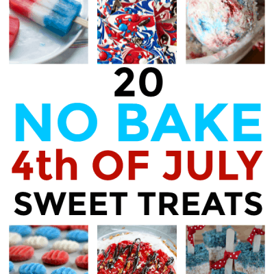 No Bake 4th of July Sweet Treats