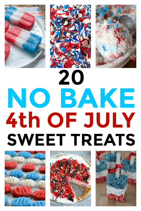 No Bake 4th of July Sweet Treats