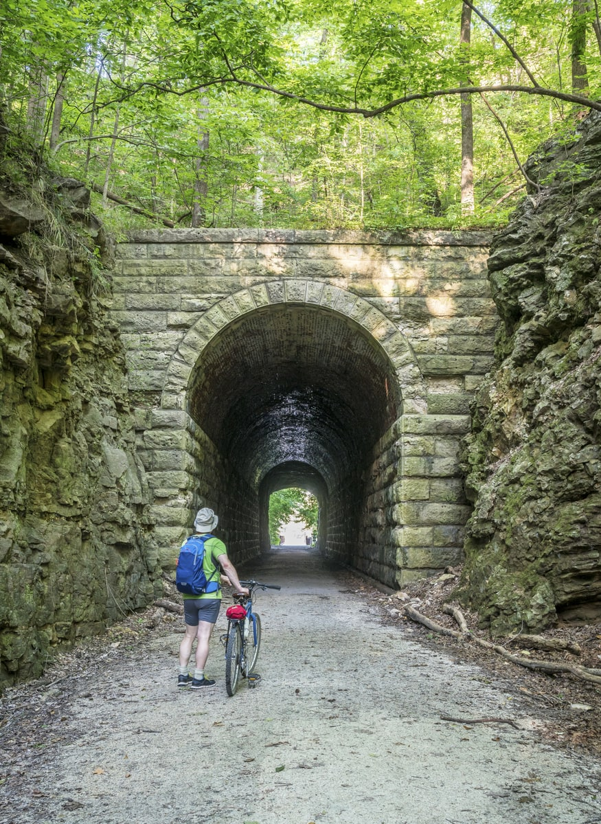 The Best Outdoor Adventures in Missouri - Biking on the Katy Trail