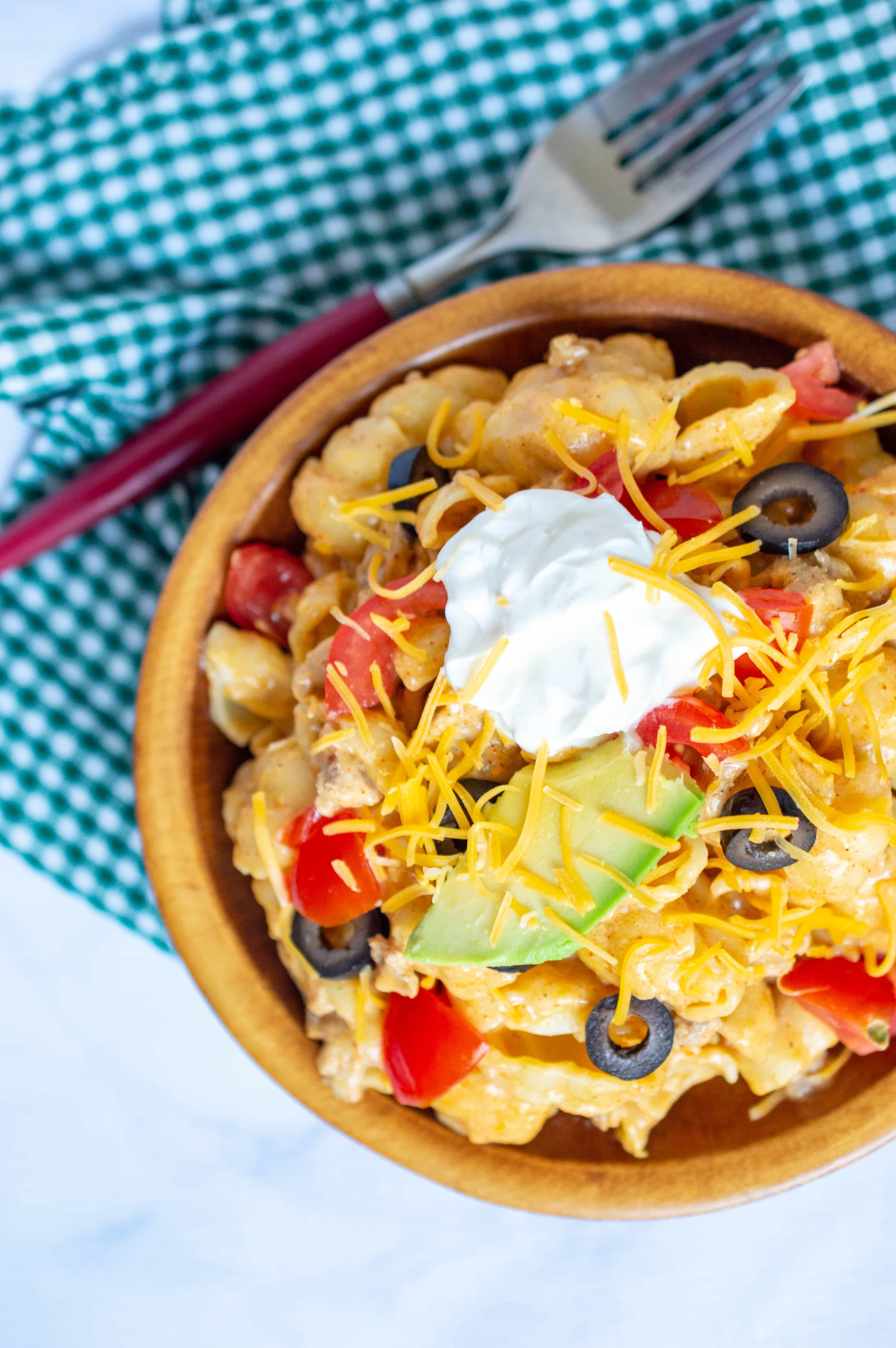 The Ultimate Comfort Food: Turkey Taco Mac & Cheese